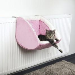 Cat Princess lit radiateur 38 × 30 × 38 cm rose - La Compagnie Des Animaux