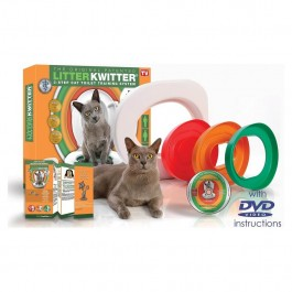 Litter Kwitter Kit de Toilette pour Chat - La Compagnie Des Animaux