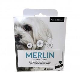 Merlin Collier petit et moyen chien 48 cm