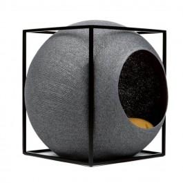 Meyou Le Cube gris foncé pour chat - La Compagnie Des Animaux