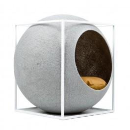 Meyou Le Cube gris clair pour chat - La Compagnie Des Animaux