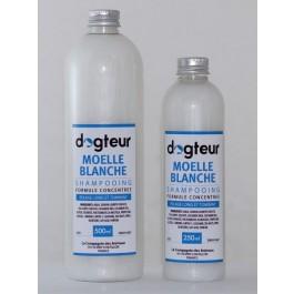 Offre Dogteur: 1 Shampooing PRO Dogteur Moelle Blanche 10 L acheté = 1 gant de toilettage offert - La Compagnie Des Animaux