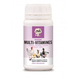 Plume & Compagnie Volacrine Multi-Vitamines 250 ml - La Compagnie Des Animaux