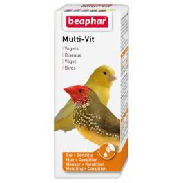 Beaphar MULTI-VIT vitamines oiseaux 50 ml - La Compagnie Des Animaux