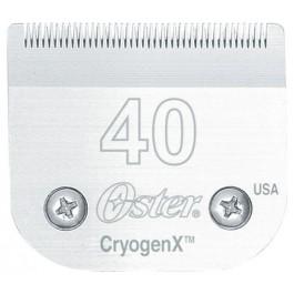 Tête de coupe Oster N40 0,25 mm pour tondeuse Oster Golden A5 - La Compagnie Des Animaux