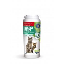 Naturlys poudre insect plus chat et chaton 100 grs - La Compagnie Des Animaux