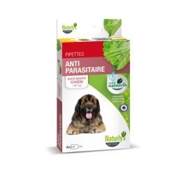 Naturlys Antiparasitaire Géant Chien + 50 kg 4 pipettes - La Compagnie Des Animaux
