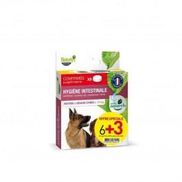 Naturlys Bien-être intestinal Moyen Grand Chien 6 + 3 cps offerts - La Compagnie Des Animaux