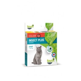 Naturlys Collier insect plus chat - La Compagnie Des Animaux
