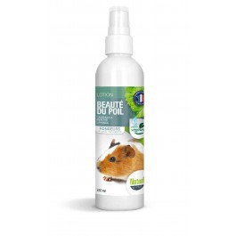 Naturlys lotion Beauté du poils Rongeurs & Petits mammifères 240 ml - La Compagnie Des Animaux
