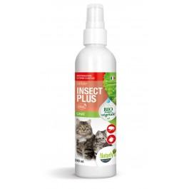 Naturlys lotion insect plus chat et chaton 125 ml + 50 ml offerts - La Compagnie Des Animaux