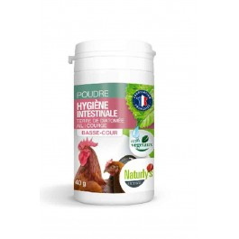 Offre -25 % Naturlys poudre hygiène intestinale volaille 40 grs - La Compagnie Des Animaux