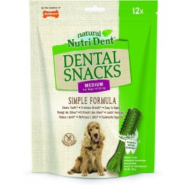 Nylabone Nutri Dent M friandises dentaires x12 - La Compagnie des Animaux