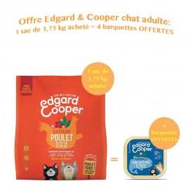Edgard & Cooper Succulent Poulet croquettes sans céréales pour chat adulte 1,75 kg - La Compagnie Des Animaux
