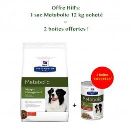 Hill's Prescription Diet Canine Metabolic 12 kg - La Compagnie Des Animaux