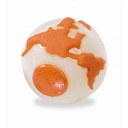 Orbee-Tuff Ball jouet pour chien fluorescent/orange S - La Compagnie Des Animaux