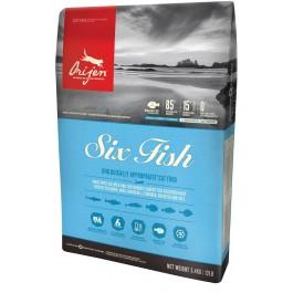 Orijen 6 Fish Chat 5,4 kg - La Compagnie Des Animaux