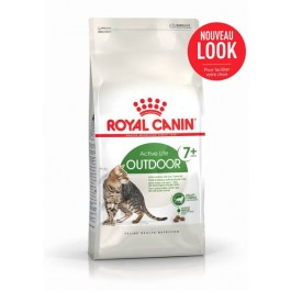 Royal Canin Féline Health Nutrition Outdoor + de 7 ans 4 kg - La Compagnie Des Animaux