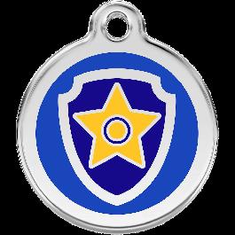 Paw Patrol Médaillon d'identité bleu - La Compagnie Des Animaux