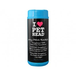 Pet Head My Paws Rock lingettes - La Compagnie Des Animaux