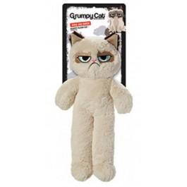 Peluche Grumpy Cat pour chien 37 cm - La Compagnie Des Animaux