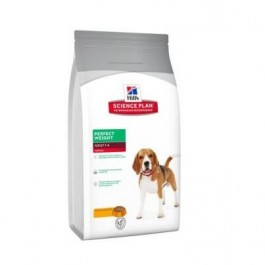 Hill's Science Plan Canine Adult Medium Perfect Weight Poulet 10 kg - La Compagnie Des Animaux
