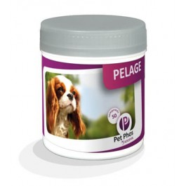 Pet Phos Pelage Chien 50 cps - La Compagnie Des Animaux