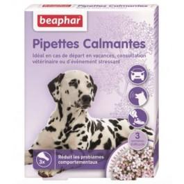 Beaphar chien 3 pipettes calmantes  - La Compagnie Des Animaux