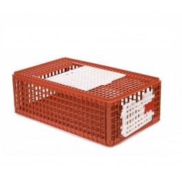 Plume & Compagnie Cage de Transport pour Volaille 95 x 57 x 24 cm - La Compagnie Des Animaux