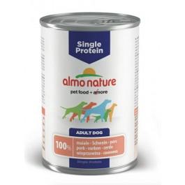 Almo Nature Chien Single Protein Porc 24 x 400 grs - La Compagnie Des Animaux
