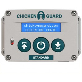 Portier automatique Digitale ChickenGuard Standard - La Compagnie Des Animaux