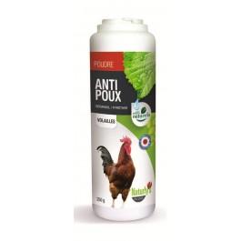 Naturlys poudre aviaire anti poux 250 grs   - La Compagnie Des Animaux
