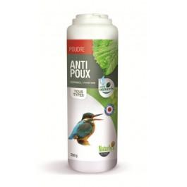 Naturlys Poudre anti-poux oiseaux 250 grs - La Compagnie Des Animaux