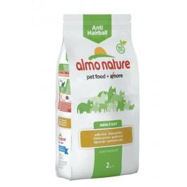 Almo Nature Chat Anti Hairball Poulet et riz 2 kg - La Compagnie Des Animaux