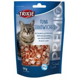 Trixie Premio Thon et poulet sandwiches pour chat 50 grs - La Compagnie Des Animaux