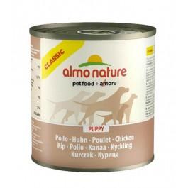 Almo Nature Chien Classic Puppy Poulet 12 x 280 grs - La Compagnie Des Animaux