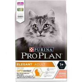 Purina Proplan Cat Optiderma Elegant Adult Saumon 1,5 kg - La Compagnie Des Animaux