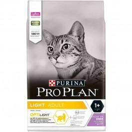 Purina Proplan Cat Adult Optilight Dinde 3 kg - La Compagnie Des Animaux