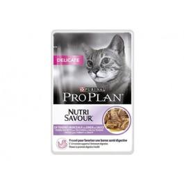 Purina Proplan Cat Nutrisavour Delicate Dinde 24 pochons 85 grs - La Compagnie Des Animaux