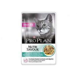 Purina Proplan Cat Nutrisavour Delicate Poisson 24 pochons 85 grs - La Compagnie Des Animaux