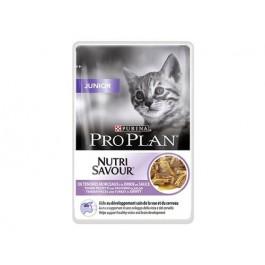 Purina Proplan Cat Nutrisavour Junior Dinde 24 pochons 85 grs - La Compagnie Des Animaux