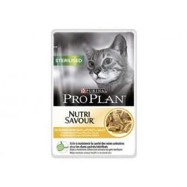 Purina Proplan Cat Nutrisavour Sterilised Poulet 24 pochons 85 grs - La Compagnie Des Animaux