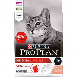 Purina Proplan Optisenses Original Adult Cat Saumon 3 kg - La Compagnie Des Animaux