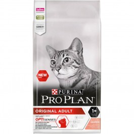 Purina Proplan Optisenses Original Adult Cat Saumon 10 kg - La Compagnie Des Animaux