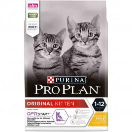 Purina Proplan Optistart Original Kitten au poulet 3 kg - La Compagnie Des Animaux