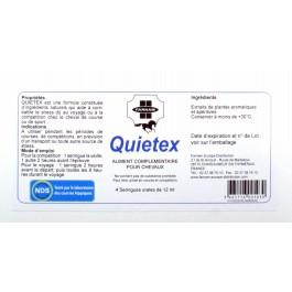 Quietex 4 Seringues Cheval stressé 12 ml - La Compagnie Des Animaux
