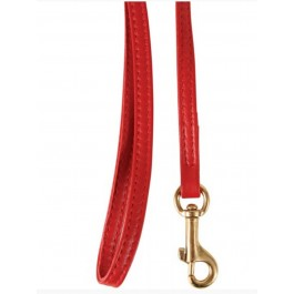 Zolux Laisse en cuir rouge pour chat 1 m - La Compagnie Des Animaux