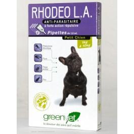 Rhodeo L.A petit chien de 1 à 10 kg 4 pipettes - La Compagnie Des Animaux