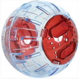 Zolux Boule d'excercie rouge 12,5 cm - La Compagnie Des Animaux