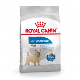 Royal Canin Mini Light Weight Care 8 kg - La Compagnie Des Animaux